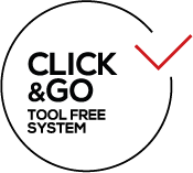 Nobile Click&Go. Tool – free system