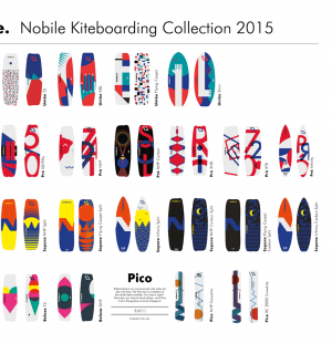WELCOME TO NOBILE SAUDADE KITEBOARDING COLLECTION 2015!